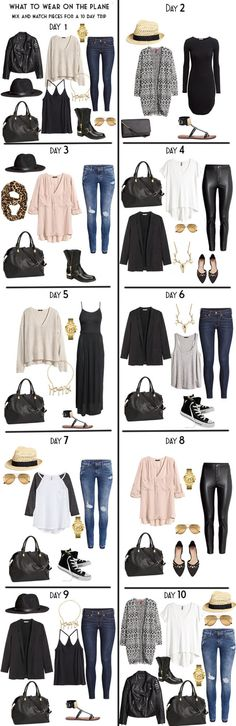 10 day packing list